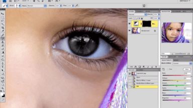 """Changing Eye Color in Photoshop: Part Two"""