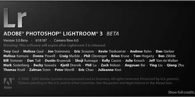 Importing Photos From Lightroom 2 into Lightroom 3 Beta