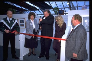 Yes that's me in 1997 opening a studio in the Seattle area w/ Chamber of Commerce at my side!