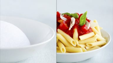 Food Photography Styling Tip: Use Styrofoam to Add Bulk