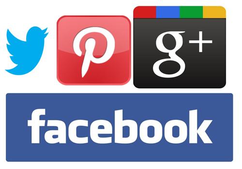 All social Media Logos