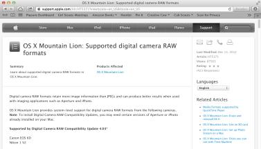 OSC Canon 6D Update
