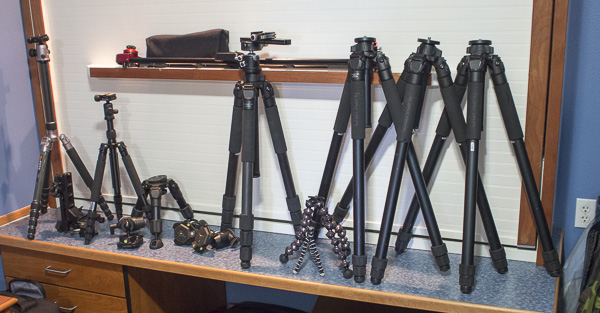 The Many Tripods Used on the Alaska Eagle shoot