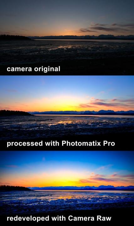 Two Pass HDR Processing (Photomatix Pro + Photoshop)