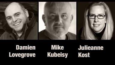 Damien Lovegrove, Mike Kubeisy, and Julieanne Kost — Photofocus Podcast 11/5/13