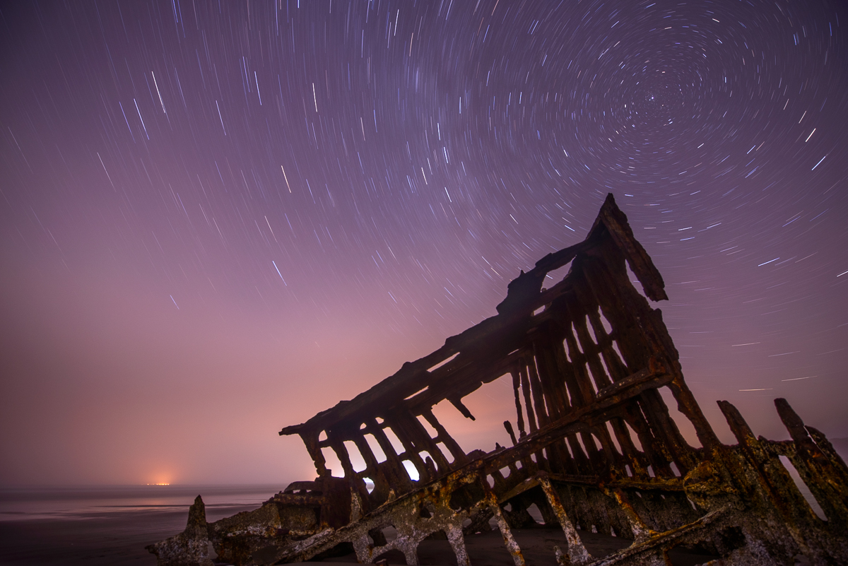 Nikon D800, 14-24mm f/2.8 lens @14mm, f/4, 19minutes 55 seconds, ISO 100.