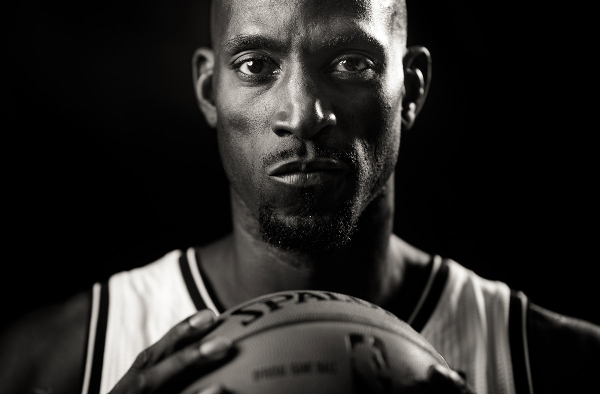 Brooklyn Nets forward Kevin Garnett.