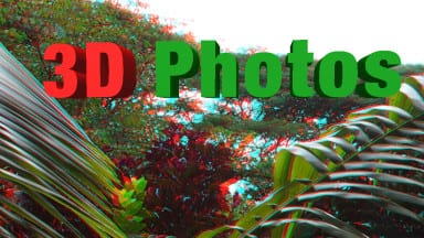 My Experiments with Shooting 3D Photos