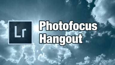 Don't Miss Today's Hangout on Lightroom + A Great Prize