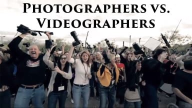 Photographers vs. Videographers (Humor)