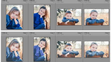 Batch-Applying Presets using Lightroom