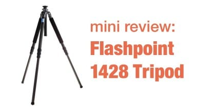 Move Over Induro – Hello Flashpoint – 1428 Tripod Mini Review