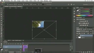 Assembling a Time-lapse video in Adobe Photoshop