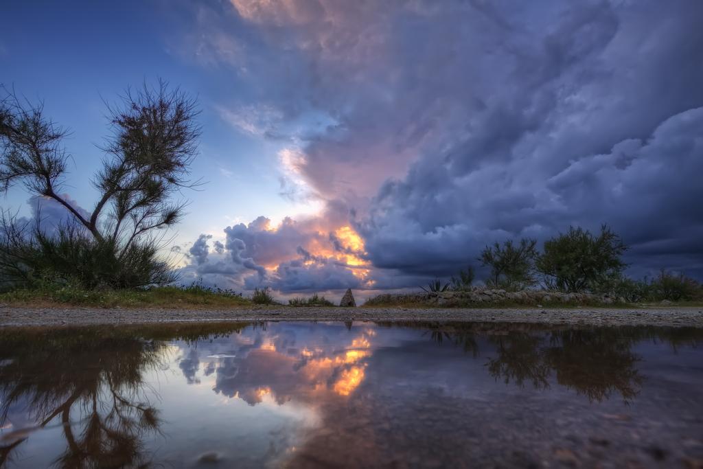 Reflets d'orage