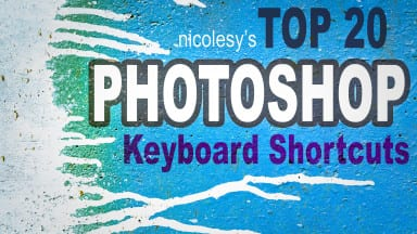 My Top 20 Photoshop Keyboard Shortcuts