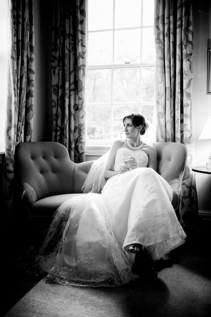Using zone 0 through X helps to frame this bride even more dynamically.