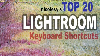 My Top 20 Lightroom Keyboard Shortcuts