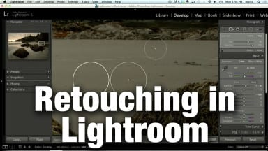 Retouching Tips in Lightroom with Matt Kloskowski