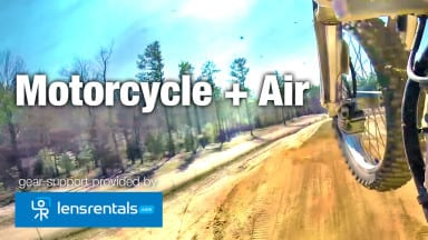 How to Capture a Motorcycle as it Flies Through the Air