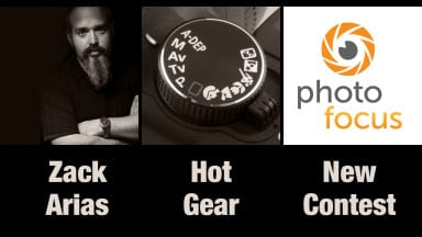Zack Arias, Hot Gear, and A New Contest | Photofocus Podcast 5/5/14