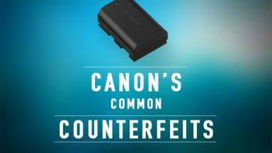 Canon's Common Counterfeits