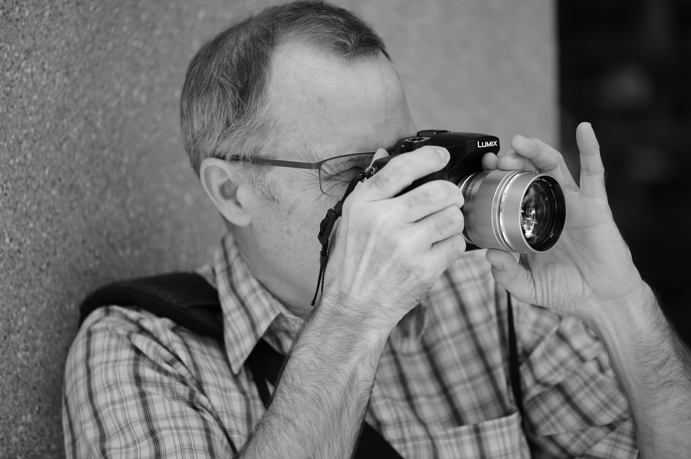 Nikon Df, 105mm f/2.8 Micro VR lens, f/3, 1/800s, ISO 320, in-camera monochrome with yellow filter.