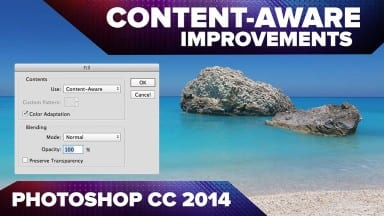 Adobe Photoshop CC 2014 – Content-Aware Improvements