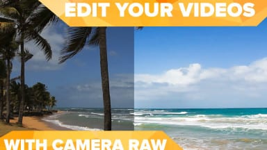 Improve your videos using CAMERA RAW in Photoshop!