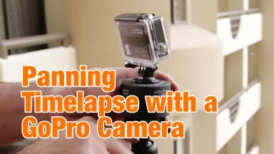 Creating a Panning Timelapse with a GoPro Camera