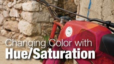 Controlling Color with the Hue/Saturation Command in Photoshop