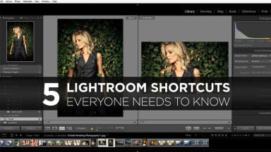 The 5 Lightroom Shortcuts Everyone Needs To Know