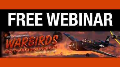 A Free Webinar on Aviation Photography