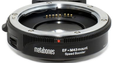 HOT GEAR:  Metabones Canon EF Lens to Micro Four Thirds Speed Boost Adapter