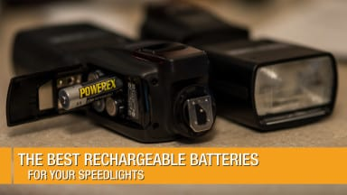 The Best Rechargeable Batteries for your Speedlights