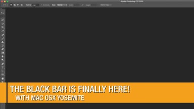 The Black Menu Bar is Finally Here!