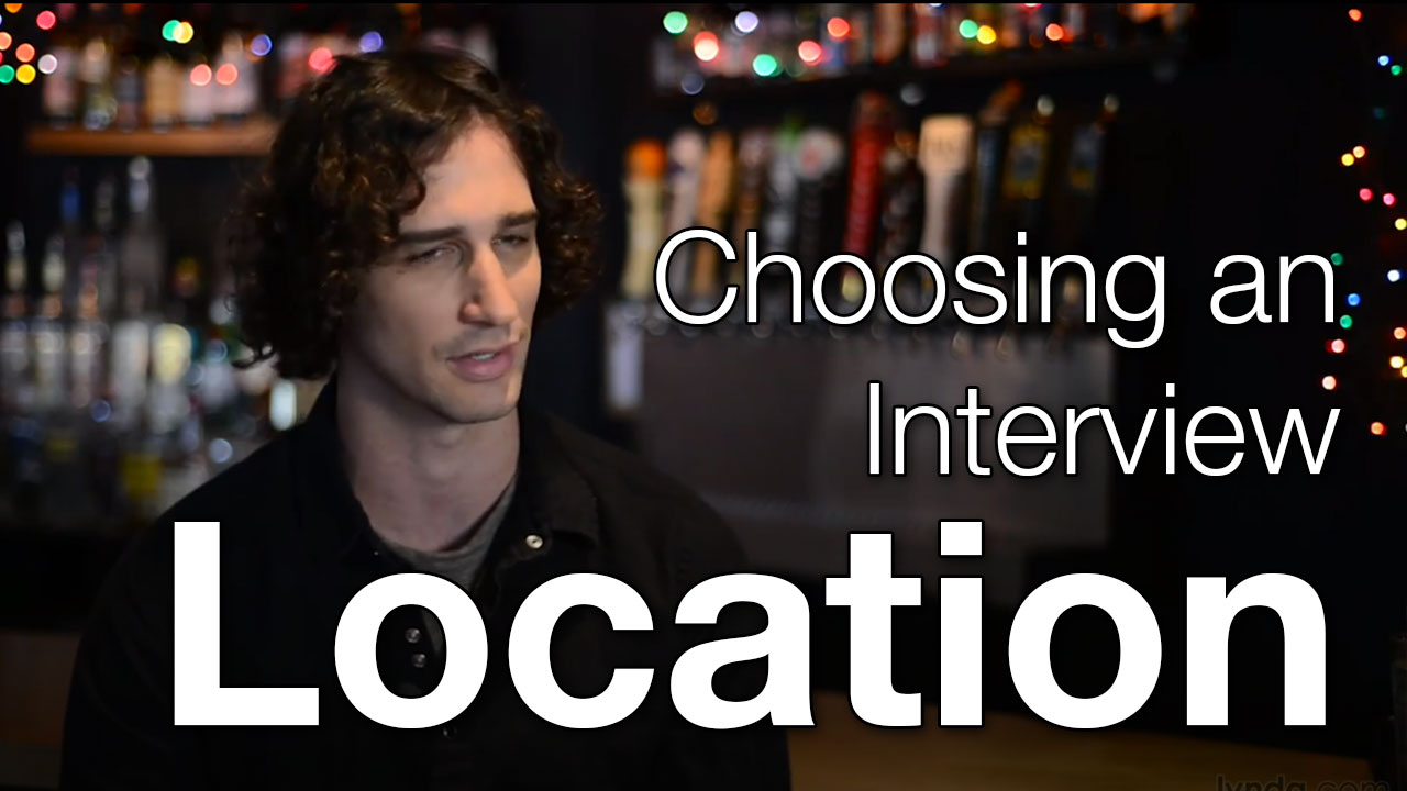 how to choose the right location for a video interview how to choose the right location for a video interview