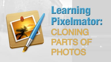 Learning Pixelmator: Cloning Parts of Photos