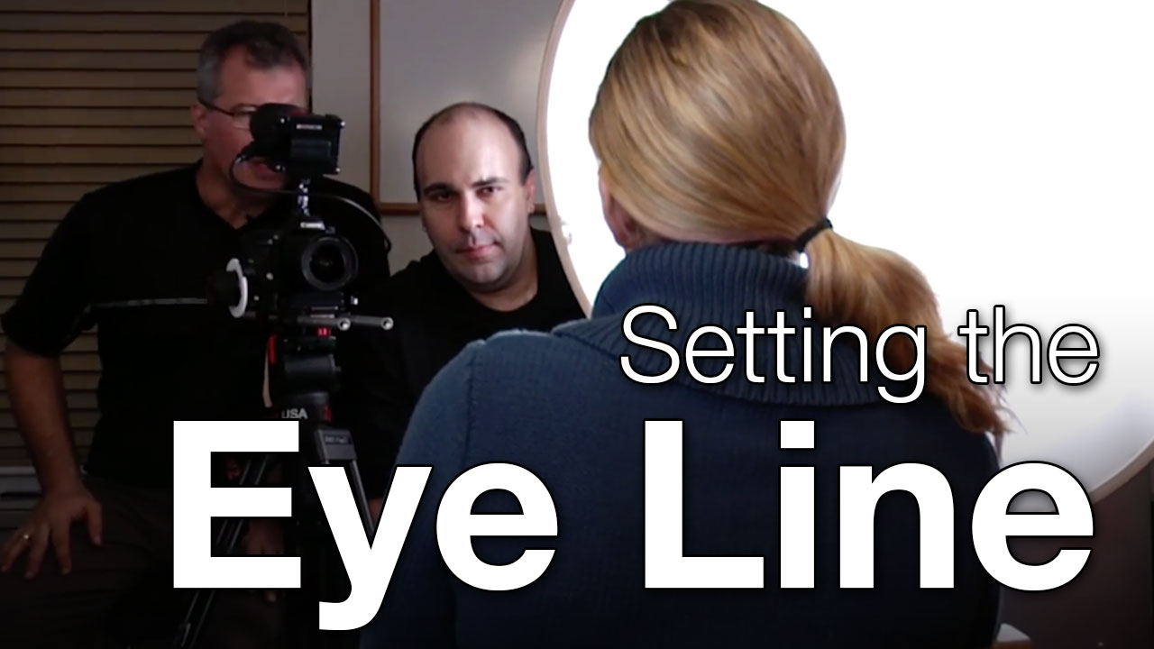 Photofocus   Setting the Eye Line for Composition in a Video Shot