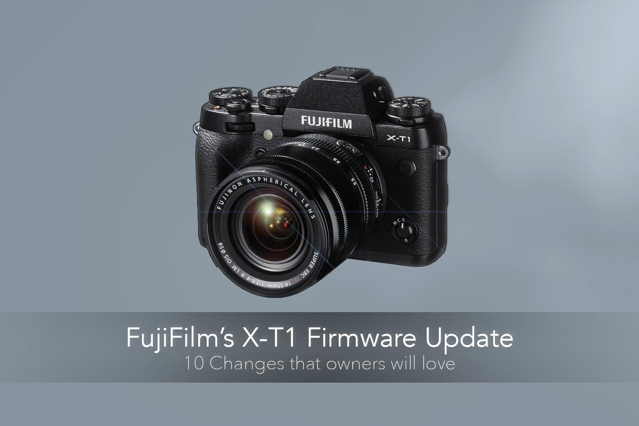 FujiFilm's X-T1 Update