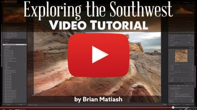 Editing with Lightroom – Exploring the Southwest