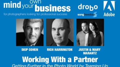 "Don't Miss Today's Business Hangout —  ""Working With a Partner"""