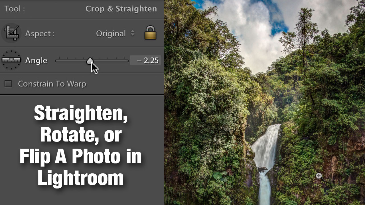 Straighten rotate or flip a photo in lightroom photofocus straighten rotate or flip a photo in lightroom ccuart Images