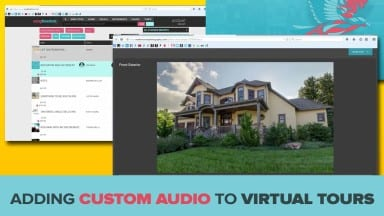 Adding Custom Audio to Virtual Tours with Songfreedom