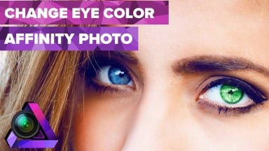 Change Eye Color Using Affinity Photo