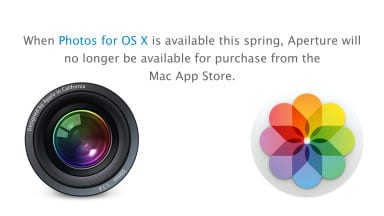 Apple is Trying to Tell You Something About Aperture
