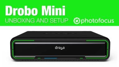 Drobo Mini Unboxing and Setup