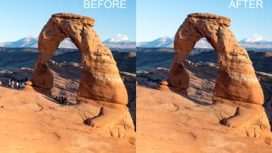 Remove Tourists from Images Using Photoshop