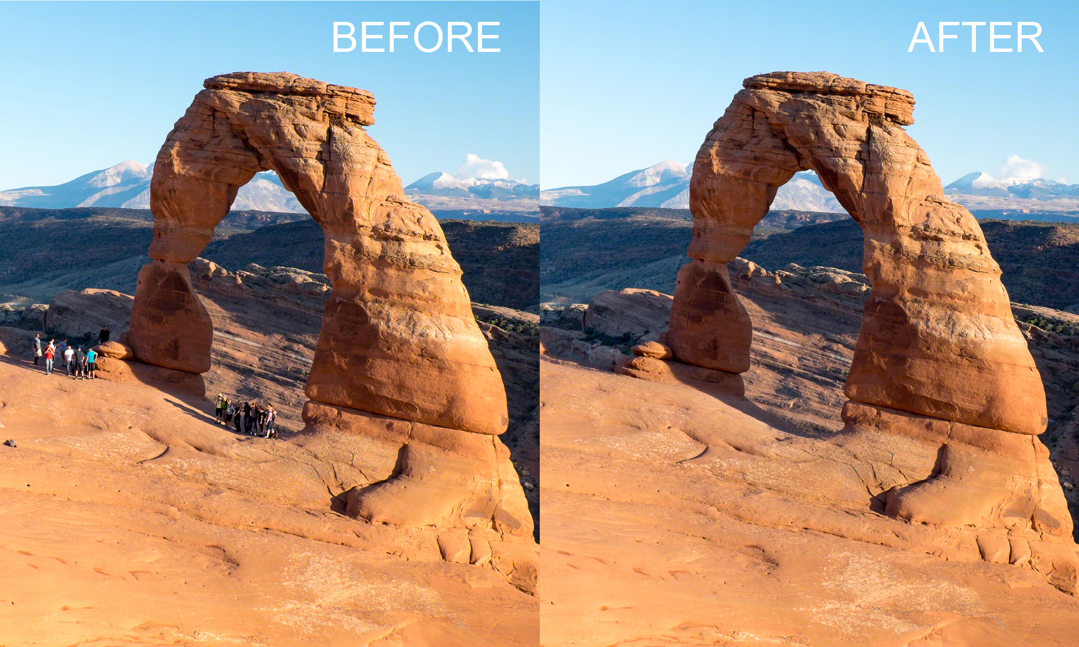 Remove Tourists From Images Using Photoshop Photofocus