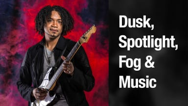 Dusk, Spotlight, Fog & Music