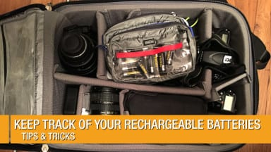 Keep Track of your Rechargeable Batteries